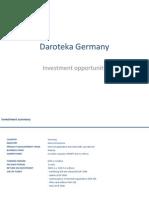 Daroteka Germany Investment Opportunity Presentation Apr2013