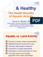Health Benefits of Aquatic Activity (Becker 2010)