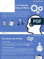 10 Proven Tips to Improve Your Productivity at Work