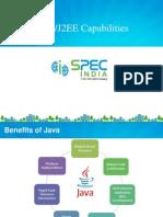 Java/J2EE Capabilities