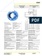 Adaptor Cu Flansa Ptr Conducte PVC