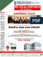 2013.12.19.Concert de Craciun ARMONIA LUCIS Caudella