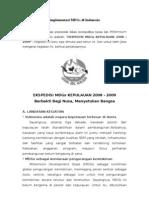 Implementasi MDGs Di Indonesia