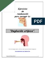 Ejercicios Deglucion Atipica