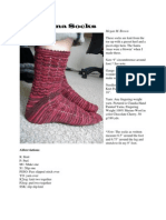 Santa Ana Socks