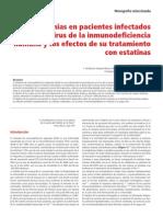 Dislipemia en pacientes infectados por HIV