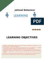 organization behavior learning