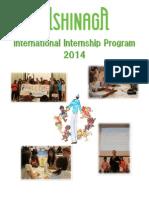 Ashinaga Internship Program Brochure (as of JAN14)