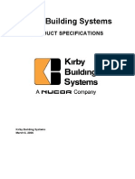 Kirby Product Specifications