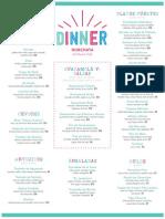 Horchata Menus Dinner f&f Final
