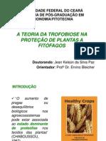 A Teoria Da Trofobiose Na Proteção de Plantas a Fitofágos