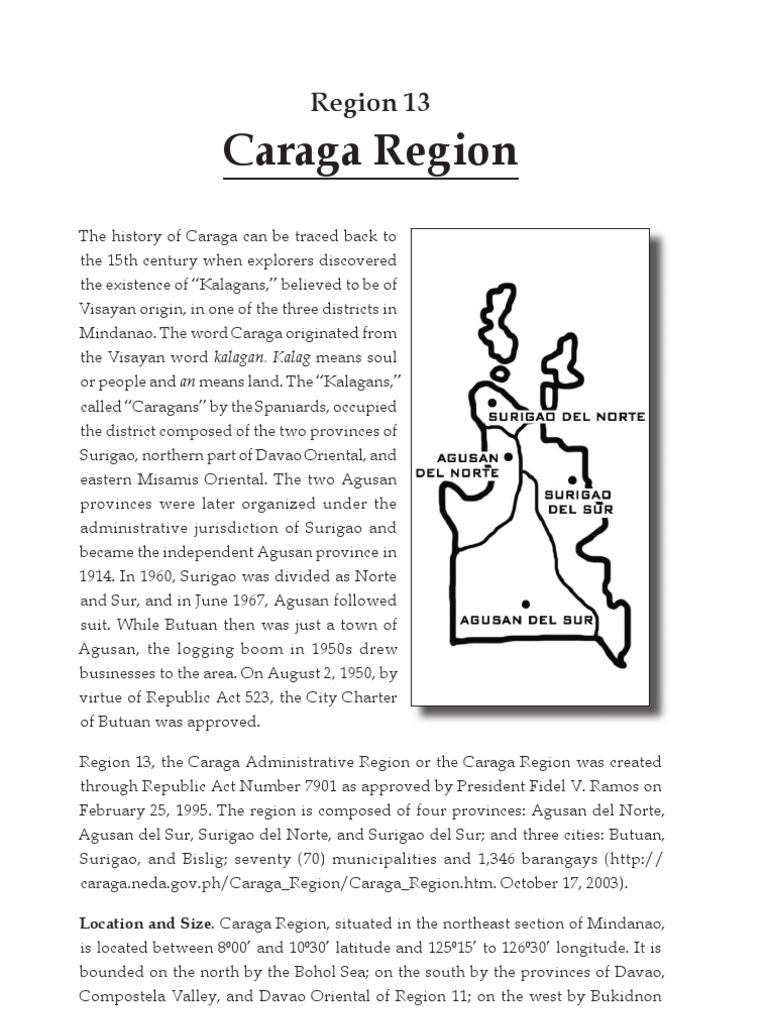 caraga region literature