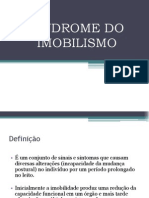 Sindrome Do Imobilismo
