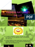 Fuentes Naturales de Luz (1)