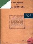 A New Approach to the Ramayana - N.R. Navlekar