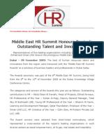 MEHR 2009-11-9 MEHR Summit Honours Region's Outstanding_Eng