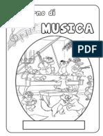 Copertina Quaderno Musica
