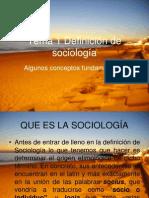 Tema 1 Definición de Sociología