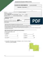 Ficha Avaliação - Geral
