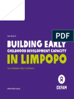 Building Early Childhood Development Capacity in Limpopo