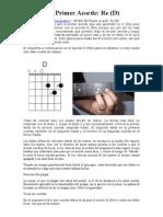 CP-002 Mi Primer Acorde- Re D
