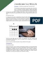 CP-003 Dos Acordes Más La y Mi (a y E)