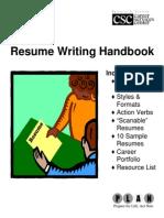 8527122 Resume Handbook