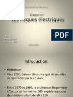 Les risques electriques
