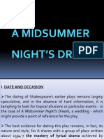 Curs 4- A Midsummer Night's Dream