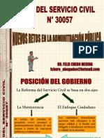 LEY N° 30057 Y LOS NUEVOS RETOS EN LA ADM PÚBLICA.pdf