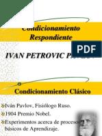 Condicionamiento de Pavlov 2014