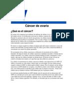 Cancer de Ovarios