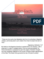 The Egyptian Foundations of Gnostic Thought