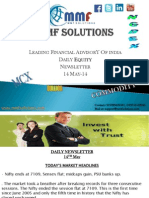 MMF Solutions Daily Equity Newsletter 14 May-14