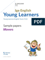 Yle Sample Papers Movers Vol 1