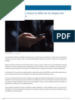 Une Étude Française Relance Le Débat Sur Les Dangers Des Téléphones Portables