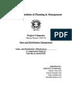 Sales & Distribution Report