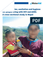 Access Water Sanitation Hiv Aids Nepal Spss