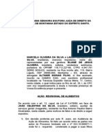 AÇÃO REVISIONAL DE ALIMENTOS DE MARCELA E LAILLA OLIVEIRA DA SILVA.doc