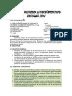 Plan de Monitoreo 2014 -2