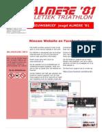 Nieuwsbrief Jeugdatletiek Mei juni 2014