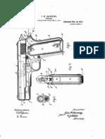 Patente Pistola Browning