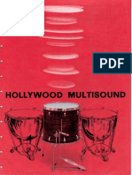 A 0987 2 00 Hollywood Multisound Floor Tom