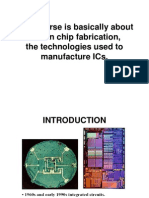 Lecture 1 IC Fabrication Technology History