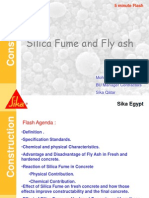 Difference between Silica Fume and Fly Ash