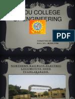 Internship in Northern Railways