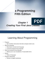 Introduction to Java (Power Point)