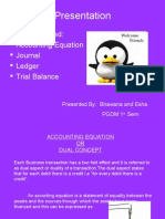 Journal, Ledger, Trial Balance Ppt