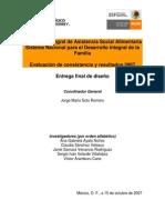 TEC DIF - Asistencia Social Alimentaria 2007