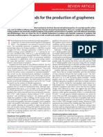 Review Chemical Methods of Graphene Production